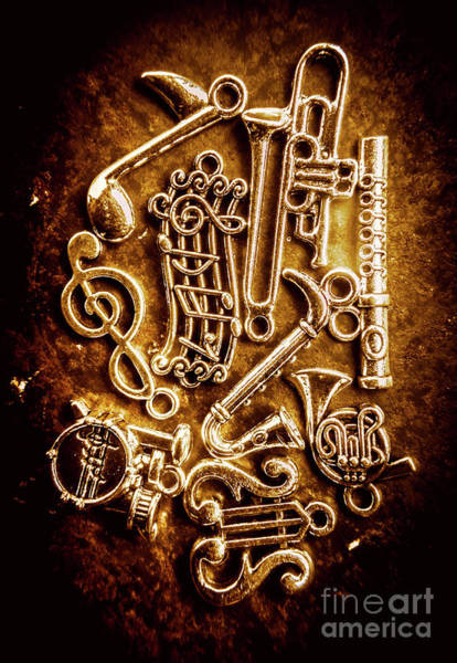 Grunge Music Wall Art - Photograph - Keys Of A Symphonic Orchestra by Jorgo Photography - Wall Art Gallery