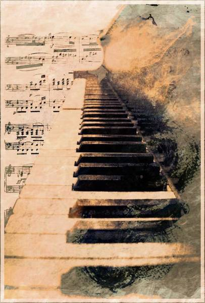 Piano Keyboard Wall Art - Photograph - Keys To Greatness  by Aaron Berg
