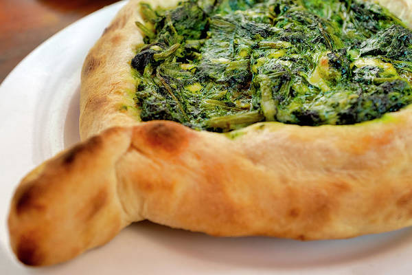 Photograph - Khachapuri With Spinach And Cheese Filling by Fabrizio Troiani