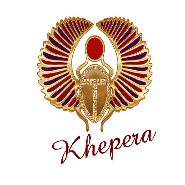Wall Art - Digital Art - Khepera  by Respect the Queen