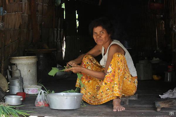Photograph - Khmer Woman by John Meader