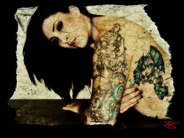 Digital Art - Khrist 2 by Mark Baranowski