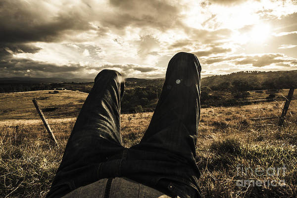 Arrival Photograph - Kicking Back In Cranbrook by Jorgo Photography - Wall Art Gallery
