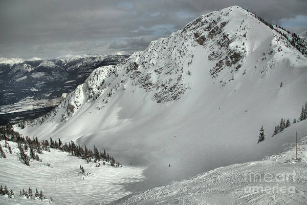 Photograph - Kicking Horse Bowl Over View by Adam Jewell