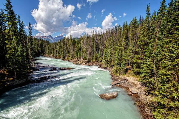 Photograph - Kicking Horse River British Columbia by Joan Carroll