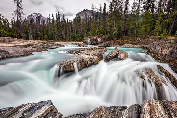 Photograph - Kicking Horse River Cascades by Pierre Leclerc Photography