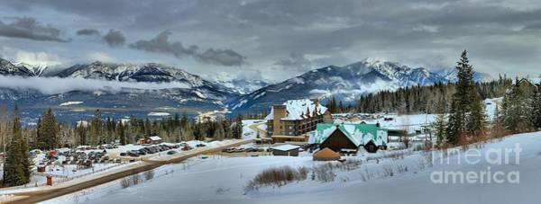 Photograph - Kicking Horse Ski Resort Base Lodge by Adam Jewell