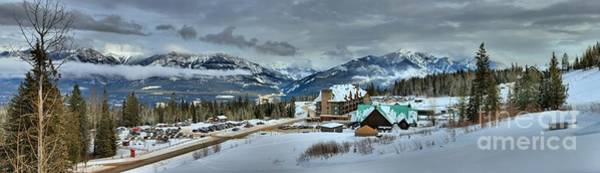 Photograph - Kicking Horse Ski Resort Panorama by Adam Jewell