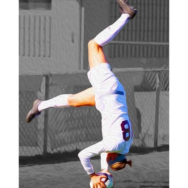 Athletes Wall Art - Photograph - #kickstand #yoga Yogi #chelsi @sldpease by David Haskett II