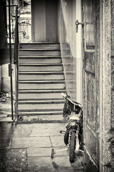 Wall Art - Photograph - Kid's Bike by Silvia Ganora