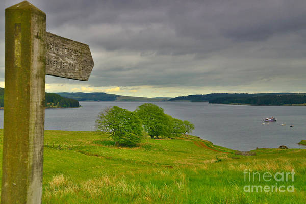 Photograph - Kielder Water Northumberland by Martyn Arnold