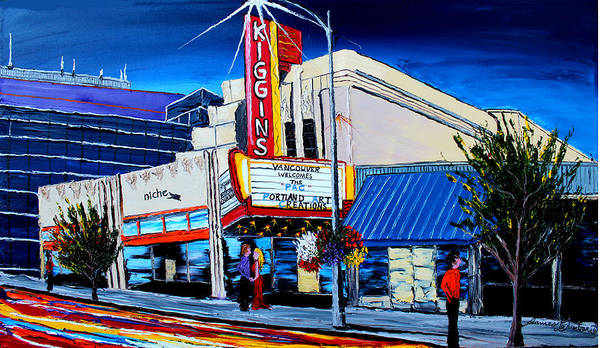 Wall Art - Painting - Kigginstheater #1 by Dunbar's Modern Art