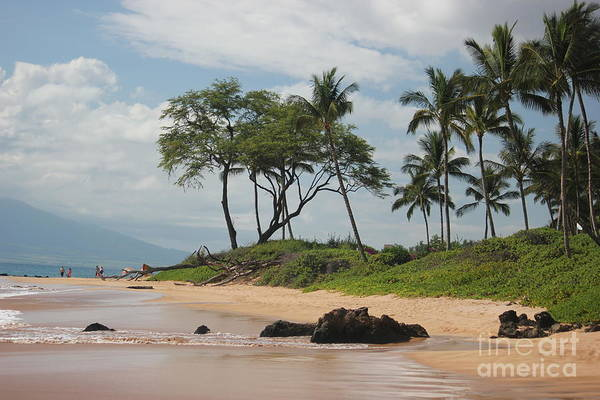 Photograph - Kihei Beach by Wilko Van de Kamp