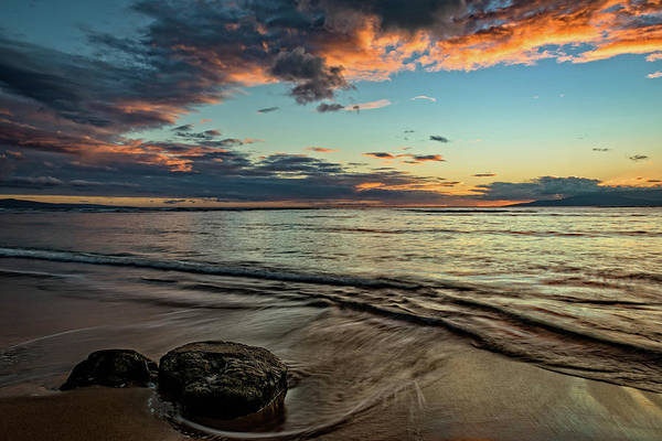 Photograph - Kihei, Maui Sunset by John Hight