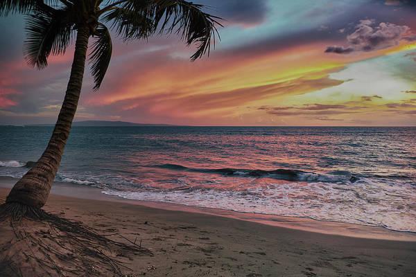 Photograph - Kihei Sunset by Trever Miller