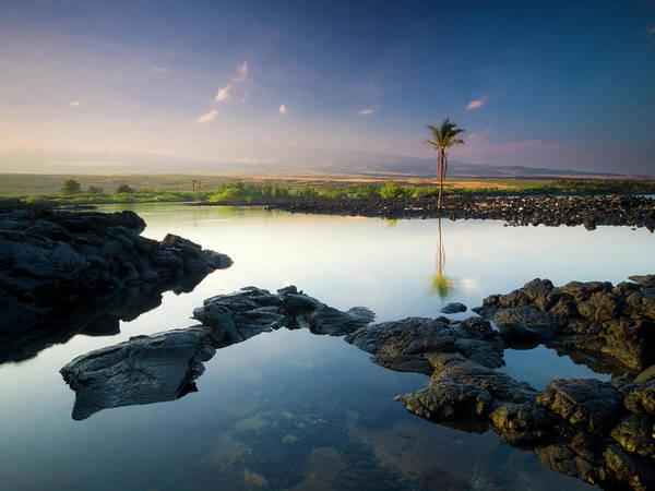 Photograph - Kiholo Bay Sunrise by Christopher Johnson