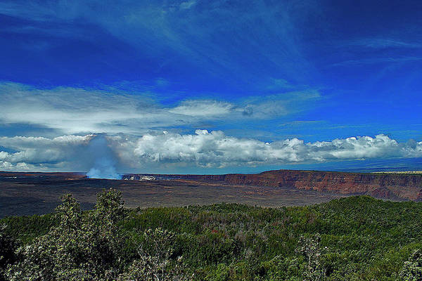 Photograph - Kilauea Caldera by Bette Phelan
