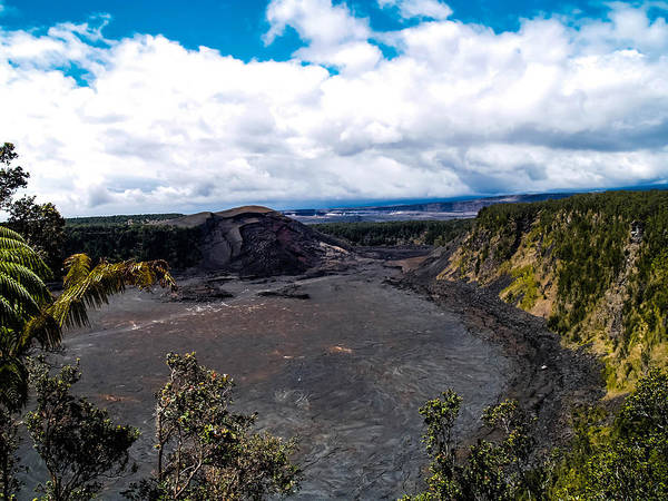 Photograph - Kilauea Caldera by Randy Sylvia