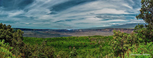 Photograph - Kilauea by Christopher Holmes