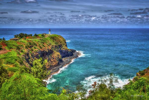 Photograph - Kilauea Lighthouse 7 North Shore Kauai Hawaii Art by Reid Callaway