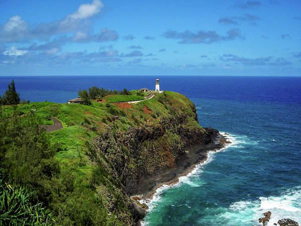 Photograph - Kilauea Lighthouse by James Eddy