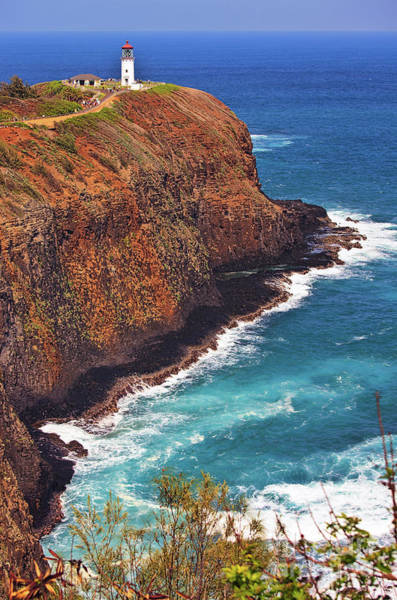 Photograph - Kilauea Lighthouse On The Island Of Kauai, Hawaii, United States Of America          by Sam Antonio Photography