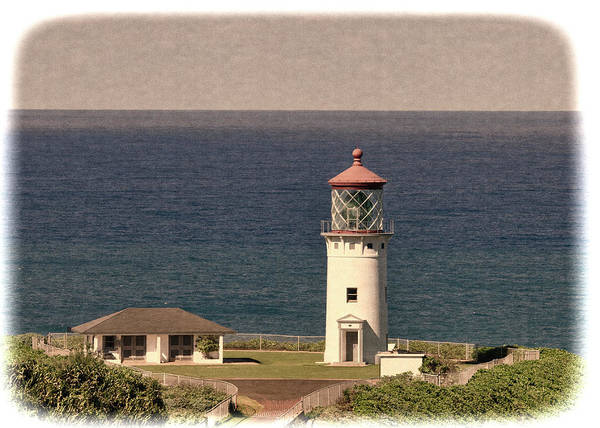 Photograph - Kilauea Point Lighthouse- Kauai, Hawaii by OLena Art Brand