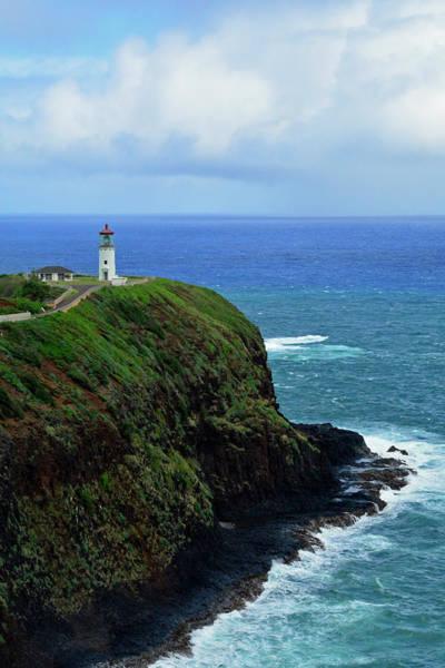 Photograph - Kilauea Point National Wildlife Refuge Lighthouse 03 by Bruce Gourley