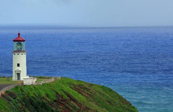 Photograph - Kilauea Point National Wildlife Refuge Lighthouse by Bruce Gourley