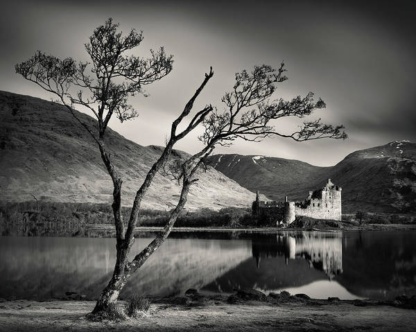 Awe Photograph - Kilchurn And Loch Awe by Dave Bowman