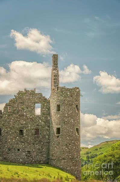 Wall Art - Photograph - Kilchurn Castle Corner Turret by Antony McAulay