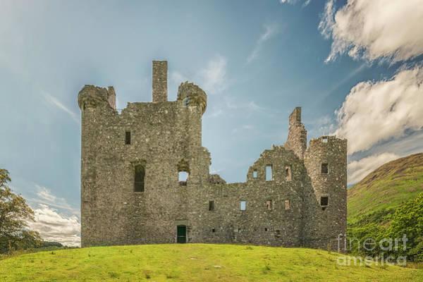 Wall Art - Photograph - Kilchurn Castle Facade by Antony McAulay