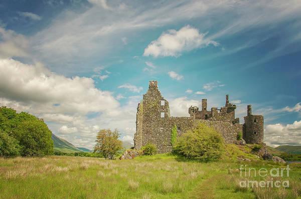 Wall Art - Photograph - Kilchurn Castle Landscape by Antony McAulay