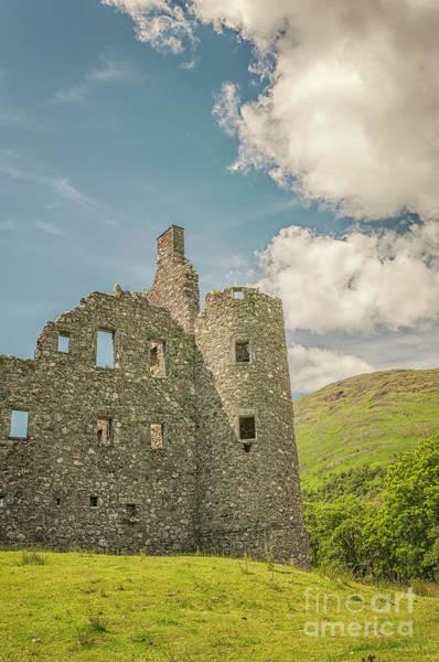 Wall Art - Photograph - Kilchurn Castle Ruin by Antony McAulay