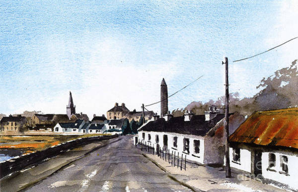 Painting - Killala In North Mayo by Val Byrne
