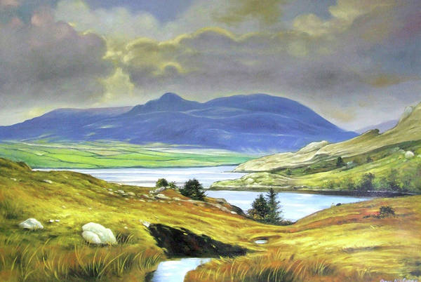Wall Art - Painting - Killary Harbour County Mayo by Conor McGuire