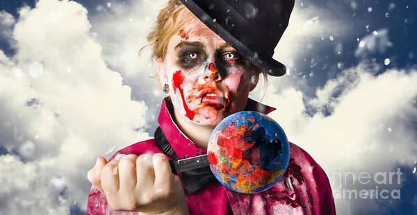 Contamination Photograph - New World Disorder by Jorgo Photography - Wall Art Gallery