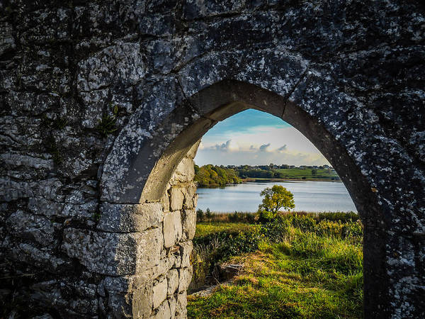 Photograph - Killone Lake From 12th Century Abbey by James Truett