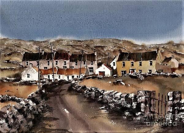 Painting - Kilmurvey Inishmore Aran by Val Byrne