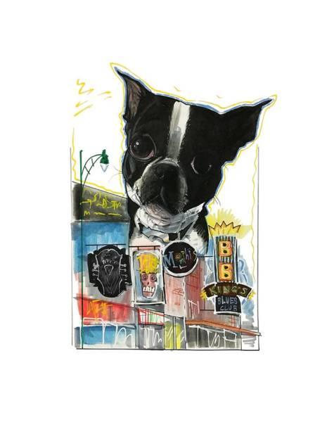 Pet Portrait Drawing - Kilner 3221 by John LaFree