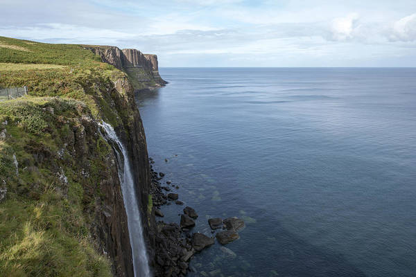 Photograph - Kilt Rock Waterfall Isle Of Skye, Uk by Dubi Roman