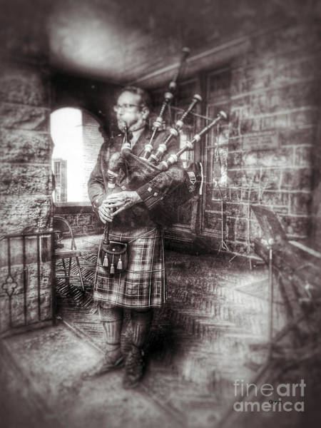 Bagpipe Wall Art - Photograph - Kilts Piper   by Steven Digman