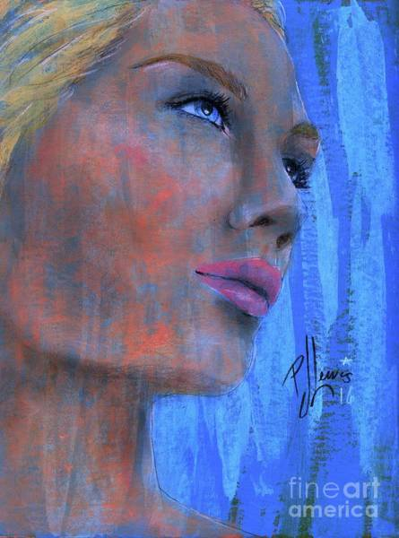 Wall Art - Painting - Kimberly by PJ Lewis