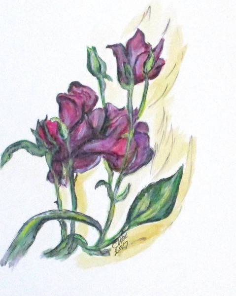 Kimberly's Spring Flower Art Print