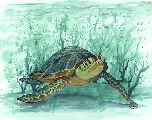 Painting - Kimo Under The Sea by Darice Machel McGuire