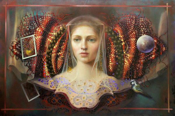 Wall Art - Painting - Kin by Loretta Fasan