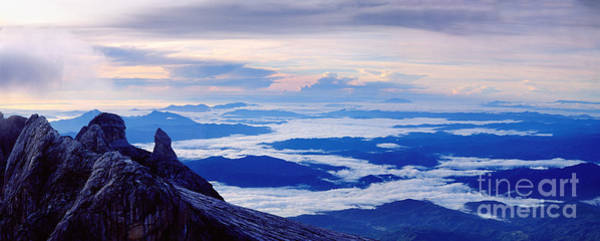 Photograph - Kinabalu Panorama by Warren Photographic