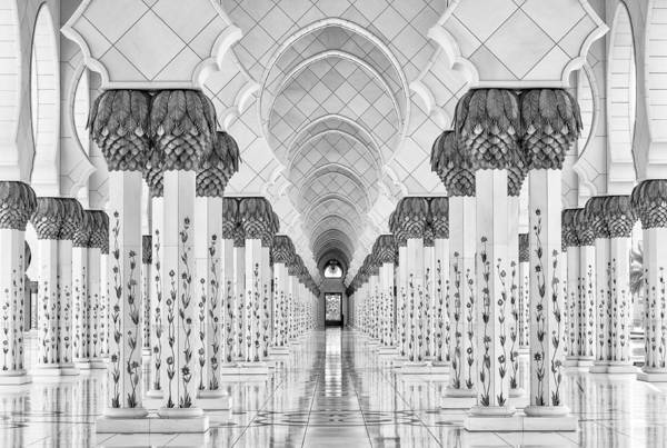 Mosque Photograph - Kind Of Symmetry by Stefan Schilbe