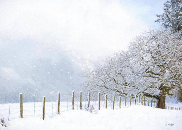 Painting - Kindness Is Like Snow - Winter Art by Jordan Blackstone