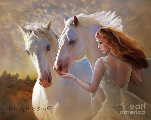 Digital Art - Kindred Spirits by Melinda Hughes-Berland